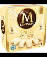 Magnum 6x60ml Mini White mix monipakkaus jäätelöpuikko