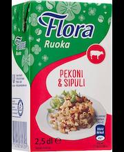 Flora Ruoka 250ml Pekoni&Sipuli