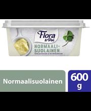Flora & Voi 600g normaalisuolainen rasvaseos