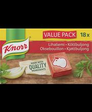 Knorr 18x10g Lihaliemikuutio