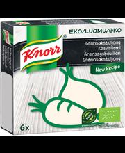 Knorr 6x11g Luomu kasvisliemikuutio