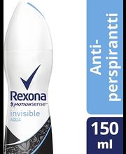 Rexona 150ml Invisible Aqua spray
