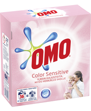 Omo 1,26kg Sensitive Color pyykinpesujauhe