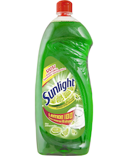 Sunlight 1000ml Lime astianpesuaine