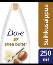 Dove 250ml Shea Butter suihkusaippua