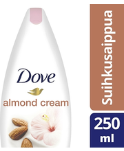 Dove 250ml Almond Cream suihkusaippua