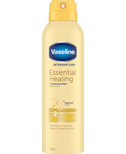 Vaseline 190ml Essential Healing Spray Lotion