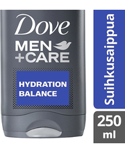 Dove Men+Care 250ml Hydration Balance suihkusaippua