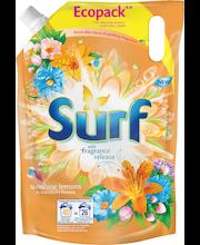Surf 2L Sunshine Lemons & Mandarin Flowers pyykinpesuneste täyttöpakkaus