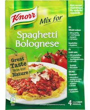 Knorr 66g Spaghetti Bolognese ateria-aines