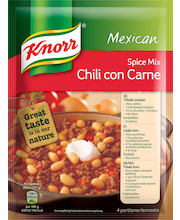 Knorr 49g Chili con Carne ateria-aines