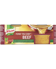 Knorr 4x28g Fond du Chef naudanliha-annosfondi