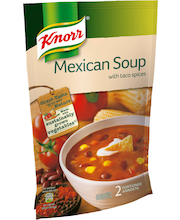Knorr 570ml Meksikolainen keitto taco-mausteilla
