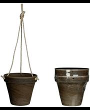 Amppeli 2Kpl Basalt H18cm