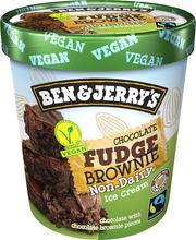 B&J 500ml Non Dairy Chocolate Fudge Brownie