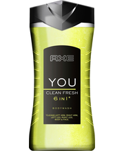 Axe 250 ML YOU CLEAN FRESH SUIHKUGEELI