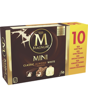 Magnum 10x55 ml Classic/Almond/White Monipakkaus
