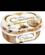 Ingman Creamy Jäätelö kotipakkaus Suklaa-appelsiinikrokantti 850 ML
