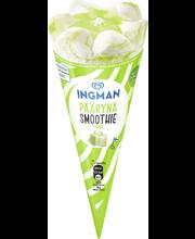 Ingman 120ml/65g Päärynä Smoothie jäätelötuutti laktoositon