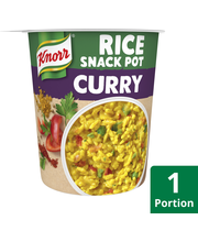 Knorr 87g Snack Pot Rice Curry