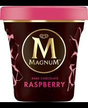 Magnum 440 ML Raspberry & Dark Chocolate jäätelöpakkaus