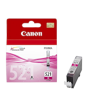 Canon CLI-521 magenta mustepatruuna
