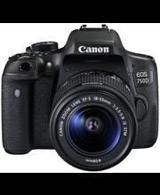 Canon EOS 750D (W) 18-55 S Nord järjestelmäkamera