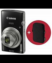 Canon IXUS 185 musta Essentieal kit kamera