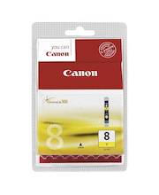 Canon CLI-8 keltainen mustepatruuna