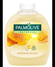 Palmolive Naturals 300ml Milk & Honey nestesaippua täyttöpullo