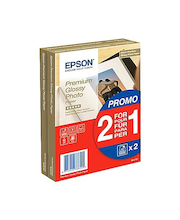 Epson Premium Glossy Photo Paper 10x15 doublepack