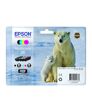 Epson Multipack 4-colours 26 Claria Premium Ink -muste