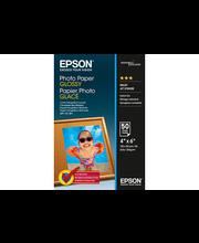 Epson valokuvapaperi glossy 10x15cm  50 sivua