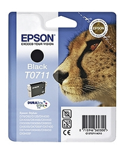 Epson T0711 musta väripatruuna