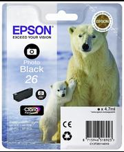 Epson  26 väripatruuna  valokuvamusta