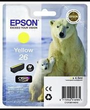 Epson 26 väripatruuna  Keltainen