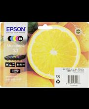 Epson 33 Multipack mustepatruuna 5 väriä