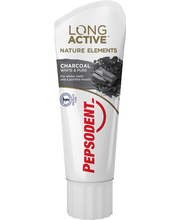 Pepsodent Hammastahna Long Active Nature Elements Charcoal 75ml