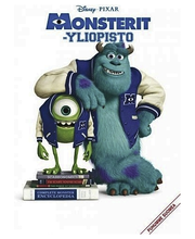 Monsterit-yliopisto DVD