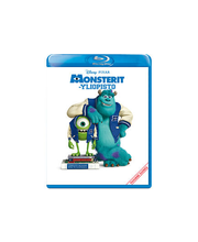 Monsterit-yliopisto Blu-ray