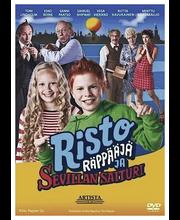 Dvd Risto Räppääjä Sevil