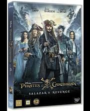 DVD Pirates Of The Caribbean: Salazar's Revenge