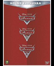 Dvd Autot 1-3 Box