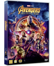 DVD Avengers Infity War