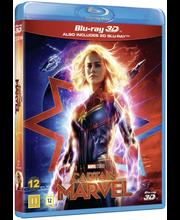 3D Captain Marvel