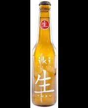 iKi Beer vihreällä teellä ja yuzu-sitruunalla Luomu 4,5%, 0,33L