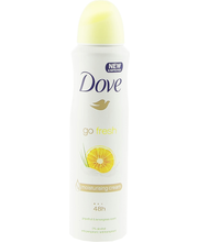Dove 150ml Grapefruit and Lemongrass antiperspirant spray