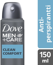 Dove 150ml Men+Care Clean Comfort antiperspirant aerosol