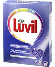 Bio Luvil 750g Color Sensitive pyykinpesujauhe