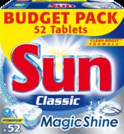 Sun 52kpl Magic Shine Classic astianpesutabletit